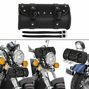Motorcycle Saddlebag, Leather Luggage, Pu Bags, Front Fork Tool Bag For Harley