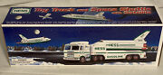 Hess Toy Trucks 1999 Space Shuttle With Satelitte, New In Box