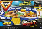 Monster Jam, Monster Dirt Arena 24-inch Playset With 2lbs Of Monster Dirt And