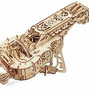 Ugears Mechanical Models 3-d Wooden Puzzle - Mechanical Hurdy-gurdy Musical
