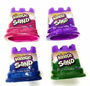 Kinetic Sand Neon Colors   Gift Set Of 4 Colors - Purple Blue Pink And Green 5