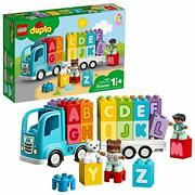 Lego Duplo My First Alphabet Truck 10915 Abc Letters Learning Toy For Toddlers,