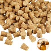 350 Pieces Small Cork Stoppers Mini Glass Bottles Cork Tops Mini Cork Stoppers T