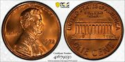 1972 Ddo Lincoln Memorial Cent 1c Pcgs Ms 66 Rd Mint State Unc Red 230