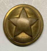 Texas Army Officers Civil War Coat Button