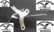 Top Motor Mount For Harley Panhead With Choke Lever Replaces Oem 16853-48