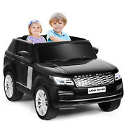 Honeyjoy 24v 2-seater Licensed Land Rover Kids Ride On Car 4wd W/ Remote Control