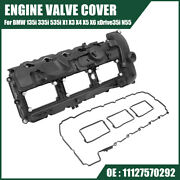 Engine Valve Cover With Gasket Set 11127570292 For Bmw X3 X5 X6 335i 2011-2014