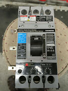 Fxd63b225 Siemens 3 Pole 225a 600vac Aux / Shunt And Fingers
