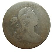 Large Cent/penny 1801 Sheldon 215 Late Die State Rare