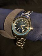 Zelos Horizons V2 Gmt Swiss Auto Teal 40mm Case Sold Out 66 Of 100. Mint