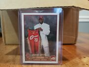 Lebron James Rookie Card Topps 221. Fresh Out Of The Pack Into The Case.
