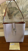 Dooney And Bourke Ashby Saffiano Leather New With Accessories And Certificate