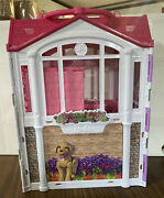 Mattel barbie Glam Getaway Doll House Furnished On-the-go Carrying Handle