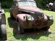 1940 Chevy Project Car Complete Body
