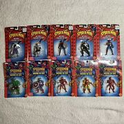 Spider-man And The Marvel Universe Poseable Die-cast X10 — 2002 / 2003 Toy Biz