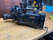 Sony Hdw-f900 Hd Camcorder With Hdca-901 Camera Adapter Fujinon Lens And Case
