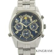 Citizen Campanola Ctr57-1101 Complication Moon Phase Watch From Japan