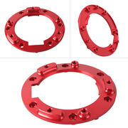 Red Gas Tank Oil Fuel Seal Cap Mounting Bracket For Bmw R1200gs 2013-2014
