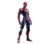 New Marvel Universe Variant Play Arts Kai Spider-man Pvc Painted Action Figure
