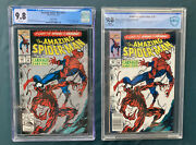 Amazing Spider-man 361 Newsstand Cbcs 9.8 Nm/mint 1st And 2nd Print App Carnage