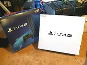 Playstation 4 Ps4 Pro Empty 2 Retail Boxes Only No Console Original Box Only