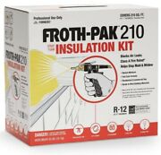 Spray Foam Insulation Kit Dow Froth-pakandtrade 210class A Fire Rated 210 Board Feet