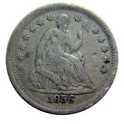 Seated Liberty Half Dime 1856 Solid Mid Grade