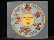 Winnie The Pooh, Christopher Robin Songs Three 78 Rpm Set Seven Inch