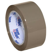 2 X 55 Yds. Tan Tape Logicandreg Industrial Tape 3.5 Mil - 360 Pieces