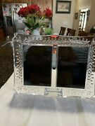 Waterford Crystal Lismore Double 4x6 Picture Frame Andndash