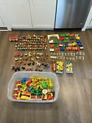 Fisher Price Little People 1970 Huge Lot