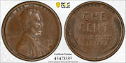 1909 S Vdb 1c Lincoln Wheat Cent Pcgs Au 50 About Uncirculated Cac