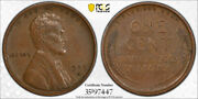 1909 S Vdb 1c Lincoln Wheat Cent Pcgs Xf 40 Extra Fine Cac Approved Key Date