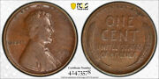 1909 S Vdb 1c Lincoln Wheat Cent Pcgs Vf 25 Very Fine Key Date Us Coin