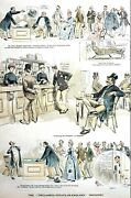 Unclaimed English Estates Industry 1890 American Inheritance Lawyers Puck Print