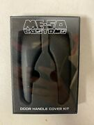 Meso Me-so Customs Black Door Handle Covers For Toyota Tacoma 2016+