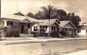 Fl 1930andrsquos Rare Real Photo Florida Bungalow Homes At Ybor City In Tampa Fla