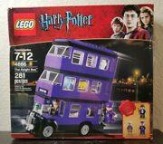 Sealed Lego Harry Potter 4866 The Knight Bus Retired Purple