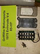 1975 Evinrude Outboard 85hp V4 Cyl 85593e Ignition Power Pack Oem Cdi Box
