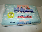 Vintage Diaper Doublers 30 Insert Pads For Cloth Disposable Diapers 1995 Usa Mad