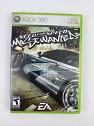 Need For Speed Most Wanted Microsoft Xbox 360, 2005 Complete Resurfaced Disc