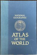 National Geographic Atlas Of The World 5th Edition Revised Large Book 18 X 12