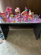 My Little Pony Large Lot Of Ponies And Amusement Rides And Houses