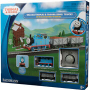 Bachmann 00760 Deluxe Thomas And The Troublesome Trucks Train Set Ho Scale
