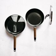Vermicular Frying Pan 24cm26cm With Both Lid Walnut From Japan Aichi Dobby