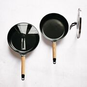Vermicular Frying Pan 24cm26cm With Both Lids Oak Set From Japan Aichi Dobby