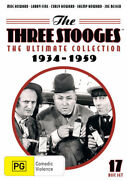 The Three Stooges The Ultimate Collection Dvd | 17 Discs | Region 4