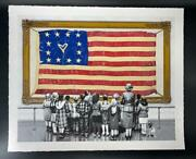 Mr. Brainwash Old Glory Serigraph Signed And Numbered 2021 Usa Flag