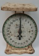 American Family Scale Weigh 25 Pound By Ounce Classic Antique Vintage Made Usa
